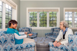 Alzheimers Assisted Living Caregiver Impact